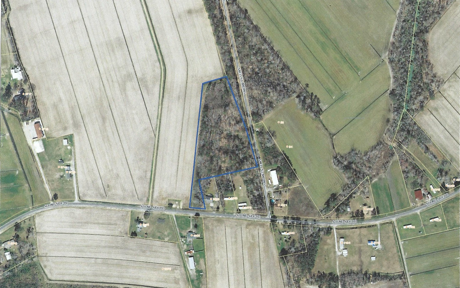 5.7 Acres Tax Map