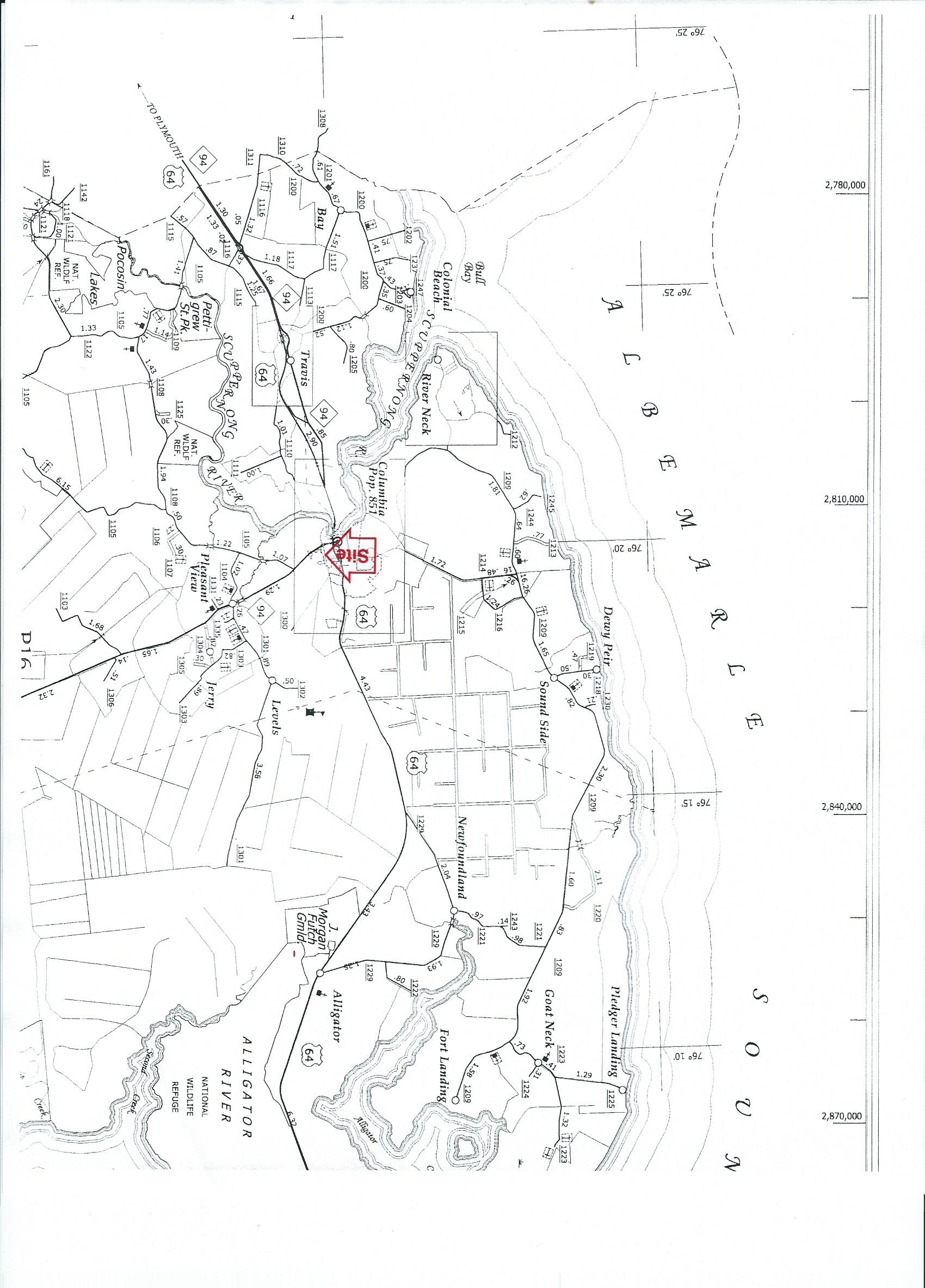 Ludford Site Map